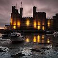 Caernarfon Castle Wales by Justin Cliffe LRPS