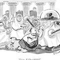 Caesar Is Murdered By Historical Mob by Benjamin Schwartz