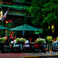 Cafe Alfresco by Susan Candelario