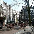 Cafe Amsterdam by J Shawn Conrey