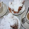 Cafe Au Lait And Beignets by Carol Groenen