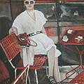 Cafe Budapest by Vasiliki Yiakatou
