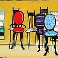 Cafe Chairs by Karon Melillo DeVega