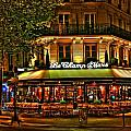 Cafe Le Champ Mars  by Steve Ellenburg