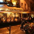 Cafe De Flore by Cindy Amey