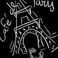 Cafe De Paris by Corinne de la garrigue