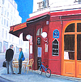 Cafe Des Musees Paris by Jan Matson
