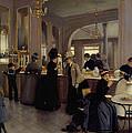 Cafe Gloppe by Jean Beraud