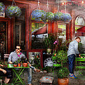 Cafe - Hoboken Nj - A Day Out  by Mike Savad