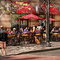 Cafe - Hoboken Nj - Cafe Trinity  by Mike Savad