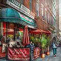 Cafe - Hoboken Nj - Vito's Italian Deli  by Mike Savad