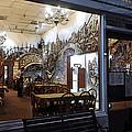 Cafe Italiano Night Usa by Sally Rockefeller