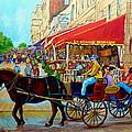 Cafe La Grande Terrasse by Carole Spandau