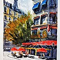 Cafe Le Champ De Mars by James Nyika