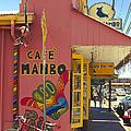 Cafe Mambo Paia Maui Hawaii by Sharon Mau