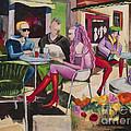 Cafe Marseille by Elisabeta Hermann