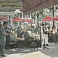 Cafe Metropole by Ian Osborne