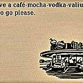 Cafe Mocha Vodka Valium by Florian Rodarte