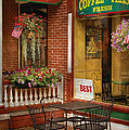 Cafe - The Best Ice Cream In Lancaster by Mike Savad