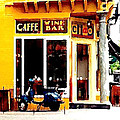 Caffe Ciao by Ronnie Caplan