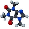 Caffeine Molecular Model by Evan Oto