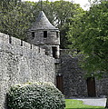 Cahir Castle Wall And Tower by Christiane Schulze Art And Photography