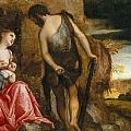 Cain As A Fugitive With His Family by Paolo Veronese