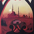 Cairo At Egypt by Suzanne  Marie Leclair