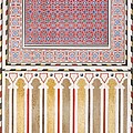 Cairo Decoration Of The El Bordeyny by Emile Prisse d'Avennes