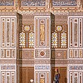 Cairo Interior Of The Mosque by Emile Prisse d'Avennes