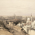 Cairo Looking West, From Egypt by David Roberts