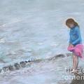 Cait At Dugan's Cove by Vicki Baun Barry