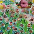 Cake Burger by Lisa Piper