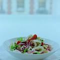 Calamari Salad by Romulo Yanes