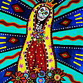 Calavera Virgen by Pristine Cartera Turkus