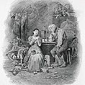Caleb Plummer And His Blind Daughter by Frederick Barnard
