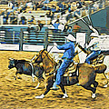 Calf Ropers by Alice Gipson
