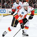 Calgary Flames V Anaheim Ducks by Debora Robinson