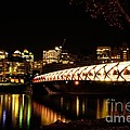 Calgary's Peace Bridge by Vivian Christopher