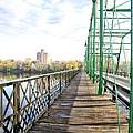 Calhoun Street Bridge Walkway by Bill Cannon