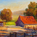 California Barn by Carolyn Jarvis