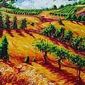 California Chardonnay by Lisa V Maus