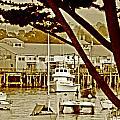 California Coastal Harbor by Joseph Coulombe