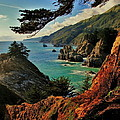 California Coastline by Benjamin Yeager