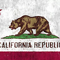 California Flag by World Art Prints And Designs