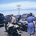 California Highway Patrol Harley Davidson Circa 1948 by California Views Archives Mr Pat Hathaway Archives