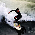 California Surfer by Catherine Sherman