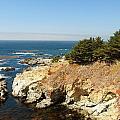 Californias Rocky Coastline by Spyglass Galleries -  Captain Layne