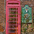 Call Me - Abandoned Phone Booth by Kay Pickens