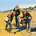 Call The Doctor by Frederic Remington